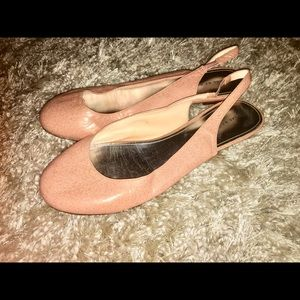 Marc by Marc Jacobs Blush Pink Closed Toe Flats 41